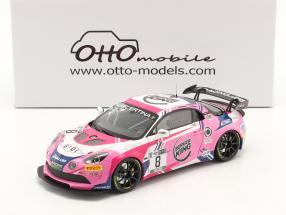 Alpine A110 GT4 #8 French GT4 Cup 2020 Consani, Lariche 1:18 OttOmobile