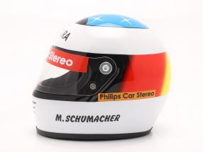 Michael Schumacher Erster Formel 1 GP Spa 1991 Helm