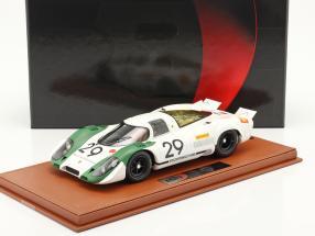 Porsche 917/69 #29 Winner 1000km Zeltweg 1969 Siffert, Ahrens mit Vitrine 1:18 BBR