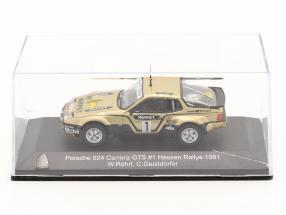 Porsche 924 Carrera GTS #1 Winner Rallye Hessen 1981 Röhrl, Geistdörfer 1:43 CMR / 2. choice
