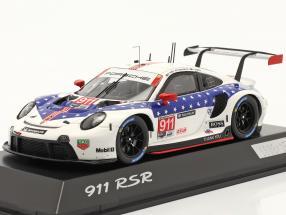 Porsche 911 RSR #911 Winner GTLM class 12h Sebring IMSA 2020 1:43 Spark