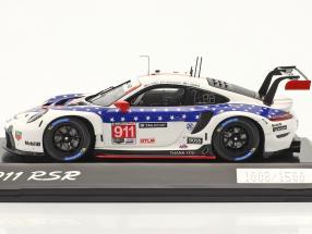 Porsche 911 RSR #911 Sieger GTLM-Klasse 12h Sebring IMSA 2020