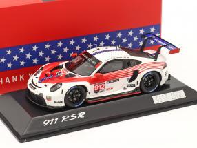 Porsche 911 RSR #912 2nd GTLM-Klasse 12h Sebring IMSA 2020