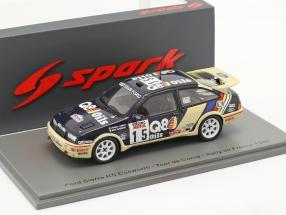 Ford Sierra RS Cosworth #15 7th Rallye Tour de Corse 1989 1:43 Spark