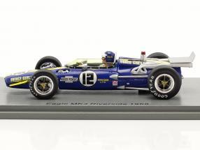 Mark Donohue Eagle MK4 #12 Champ Car Series Riverside 1968