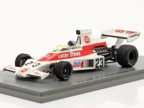 Dave Charlton McLaren M23 #23 South African GP formula 1 1974 1:43 Spark