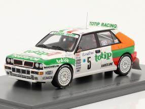 Lancia Delta HF Integrale #5 Rallye Monte Carlo 1993 Aghini, Farnocchia 1:43 Spark