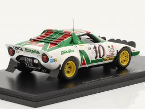 Lancia Stratos HF #10 Sieger Rallye Monte Carlo 1976 Munari, Maiga