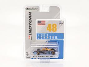Jimmie Johnson Honda #48 IndyCar Series 2021 1:64 Greenlight