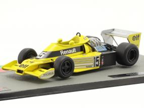 Jean-Pierre Jabouille Renault RS01 #15 Formel 1 1977 1:43 Altaya