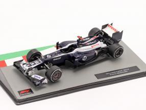 Pastor Maldonado Williams FW34 #18 formula 1 2012 1:43 Altaya