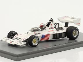 Mario Andretti Parnelli VPJ4 #27 6th Südafrika GP Formel 1 1976 1:43 Spark