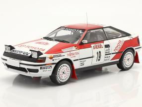 Toyota Celica GT-4 (ST165) #19 Rallye San Remo 1990 Schwarz, Wicha 1:18 Ixo