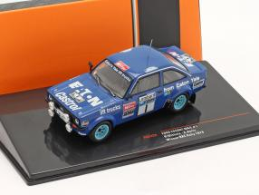 Ford Escort RS 1800 MK II #1 Sieger Lombard RAC Rallye 1979 Mikkola, Hertz 1:43 Ixo