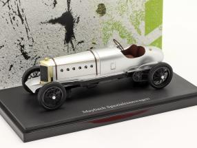 Maybach Spezialrennwagen Baujahr 1920 silber 1:43 AutoCult