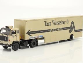 Volvo F89 Renntransporter Formel 1 1981 Team Warsteiner Arrows 1:43 Ixo