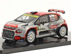 Citroen C3 R5 #21 9th Rallye Monza 2020 Östberg, Eriksen 1:43 Ixo