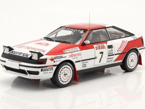 Toyota Celica GT-4 #7 6th Rallye San Remo 1990 Ericsson, Billstam 1:18 Ixo