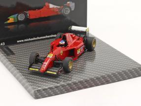 Michael Schumacher Ferrari 412 T2 Test Fiorano 1995 1:43 Ixo