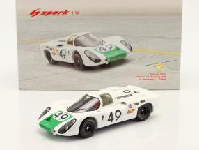 Porsche 907 C #49 Winner 12h Sebring 1968 Siffert, Herrmann 1:18 Spark