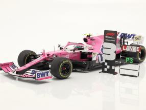 Lance Stroll Racing Point RP20 #18 3rd Sachir GP Formel 1 2020 1:18 Spark