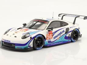 Porsche 911 RSR #56 24h LeMans 2020 Cairoli, Perfetti, ten Voorde 1:18 Spark