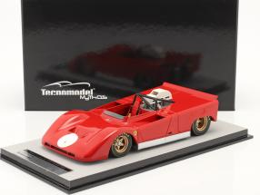 Ferrari 712 Can-Am Presse Version 1971 rot 1:18 Tecnomodel