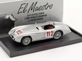 Mercedes-Benz 300 SLR #112 2nd Targa Florio 1955 Fangio, Kling 1:43 Brumm