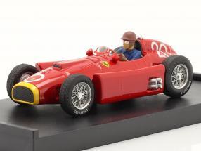 J.M. Fangio / P. Collins Ferrari D50 #20 2nd Monaco GP Formel 1 1956 1:43 Brumm