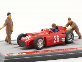 J.M. Fangio / P. Collins Ferrari D50 #26 2nd Italien GP Formel 1 1956 1:43 Brumm