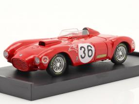 Lancia D24 #36 Sieger Carrera Panamericana 1953 Fangio, Bronzoni 1:43 Brumm
