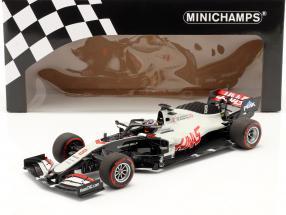 Romain Grosjean Haas VF-20 #8 Bahrain GP Formel 1 2020 1:18 Minichamps