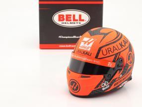 Nikita Mazepin #9 Uralkali Haas F1 Team Formel 1 2021 Helm 1:2 Bell