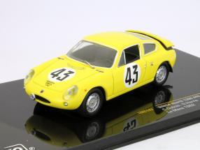 Abarth Simca 1300 #43 Le Mans 24h 1963 C.Dubois / G.Harris 1:43 Ixo