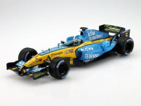 Giancarlo Fisichella Renault R25 #6 Formula 1 2005 1:18 HotWheels