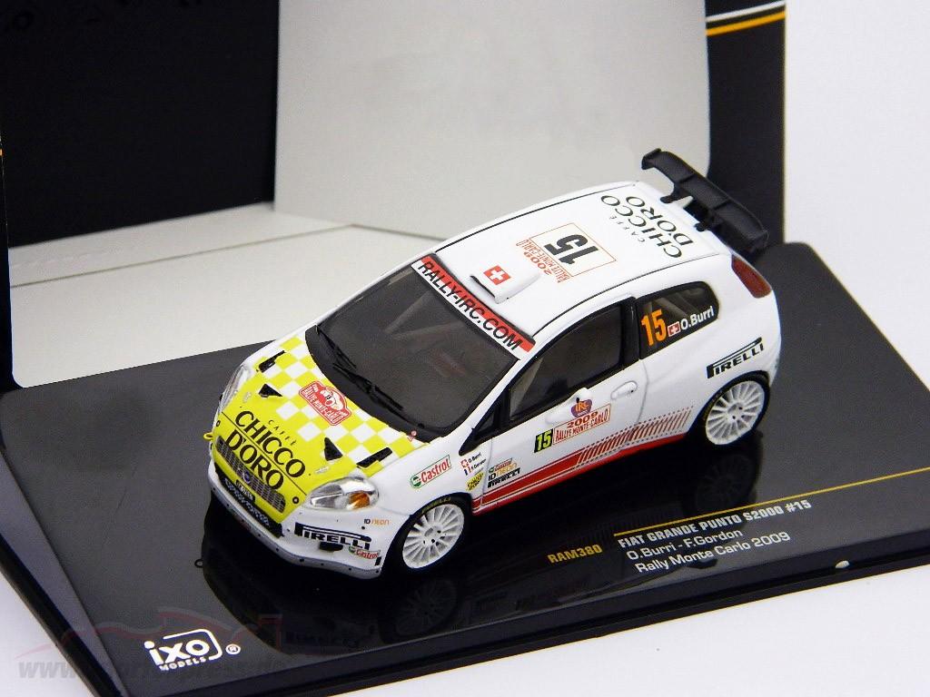 Fiat Grande Punto S2000 #15 Burri, Gordon Rally Monte Carlo