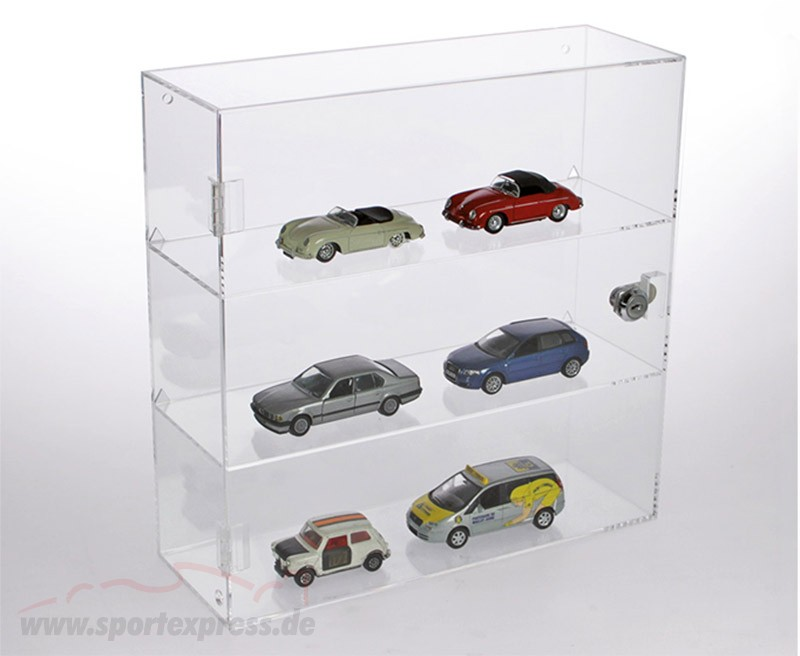 Acyrl Showcase for Model cars in the Scale  320 x 320 x 110 mm