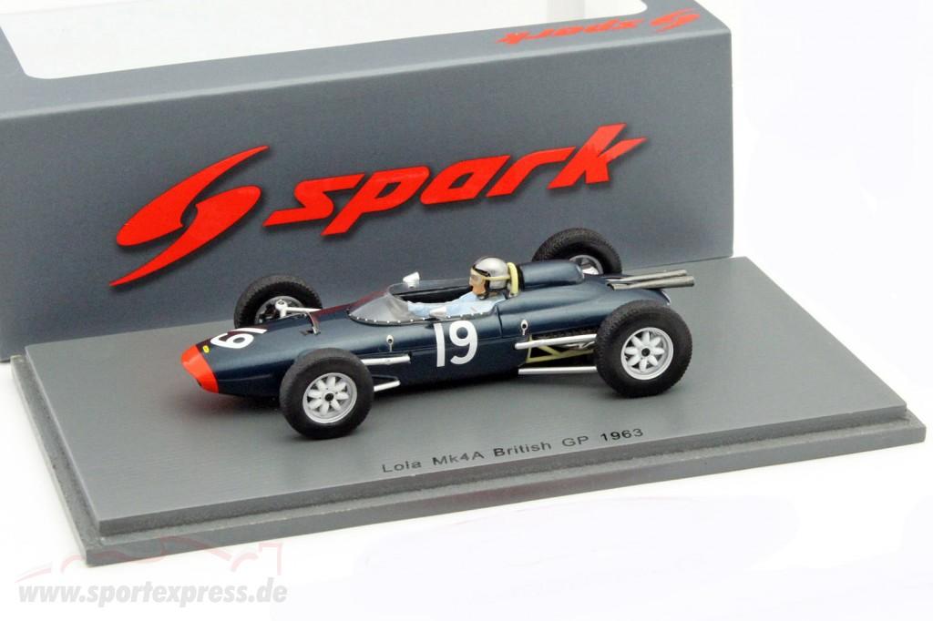 Chris Amon Lola Mk4A #19 Great Britain GP formula 1 1963
