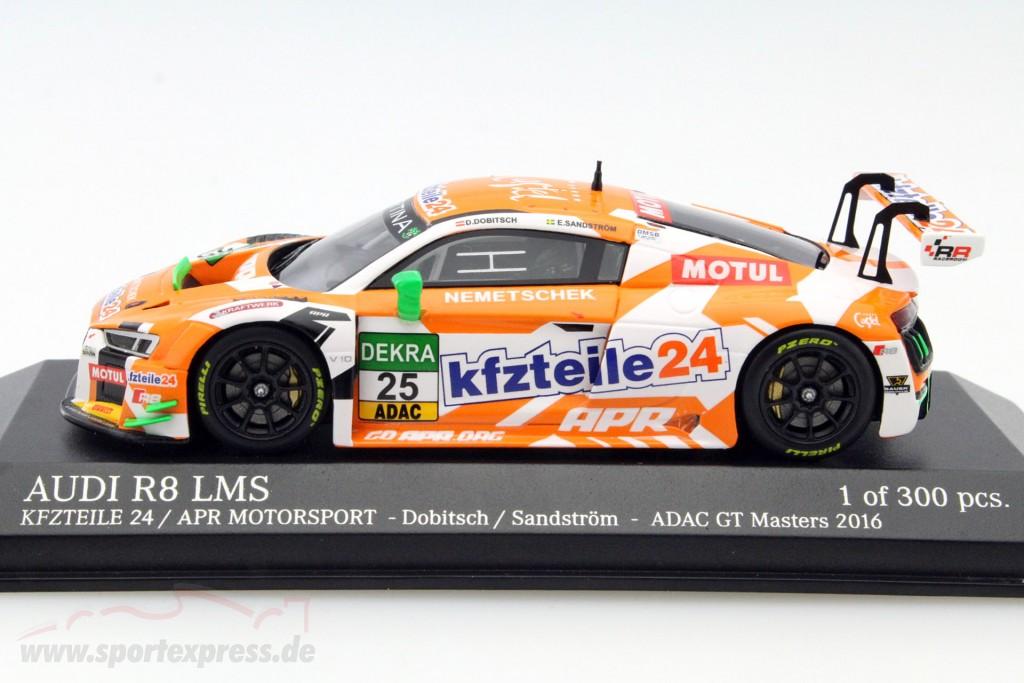 Audi R8 LMS #25 ADAC GT Masters 2016 Dobitsch, Sandström