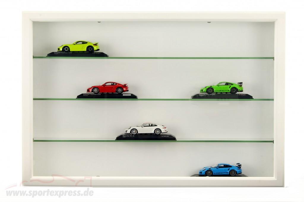 2 Supplementary glass shelves for wooden showcase Maxi