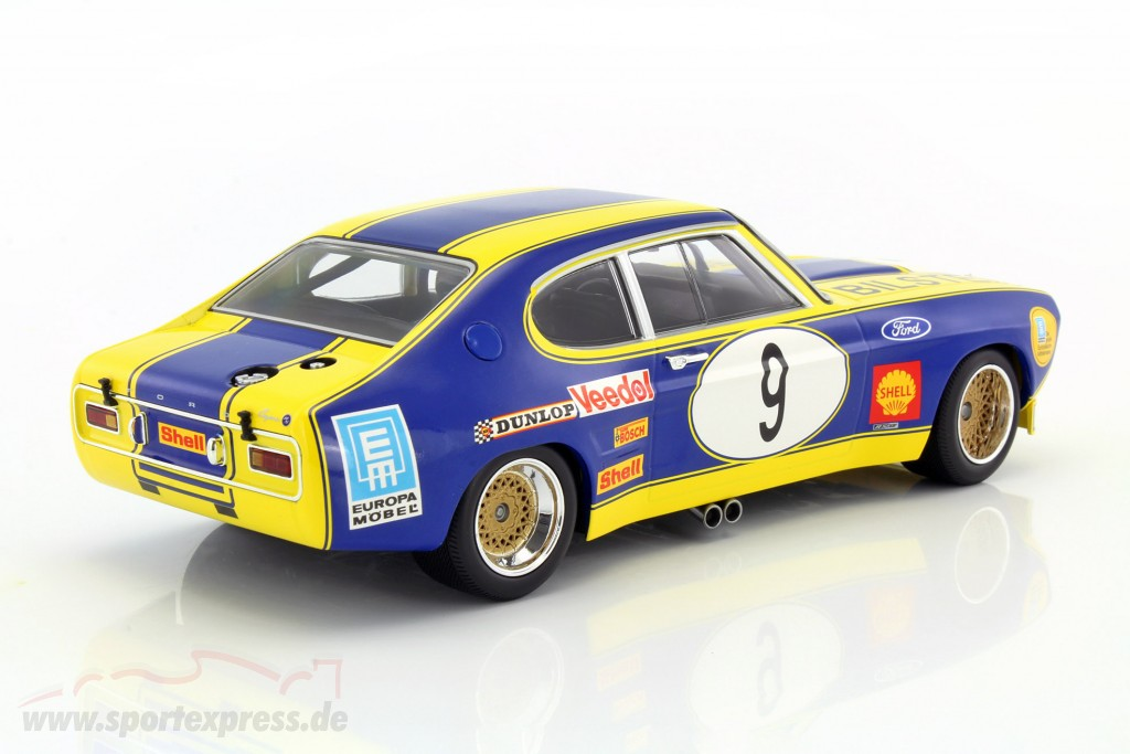 Ford Capri RS 2600 No.9 6h Nürburgring 1973 ETCC 1:18 Minichamps 155738509