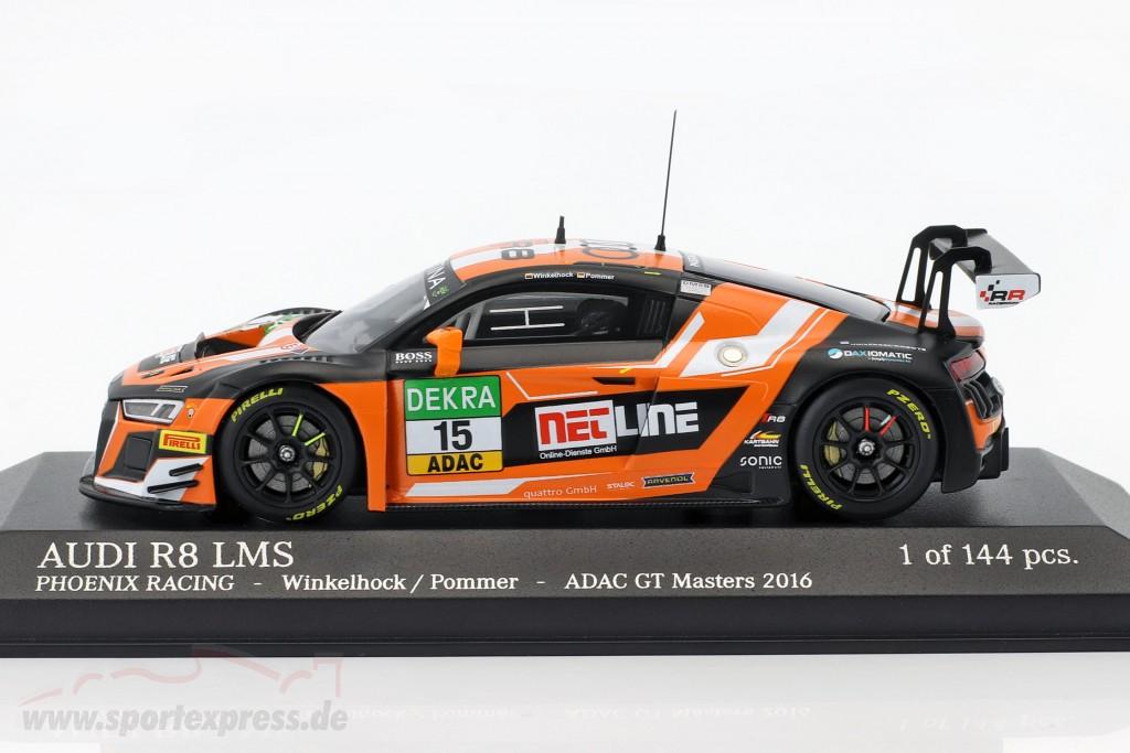 Audi R8 LMS #15 ADAC GT Masters 2016 Winkelhock, Pommer