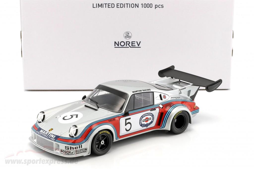 Porsche 911 Carrera RSR Turbo 2.1 #5 1000km Brands Hatch 1974 Müller, van Lennep