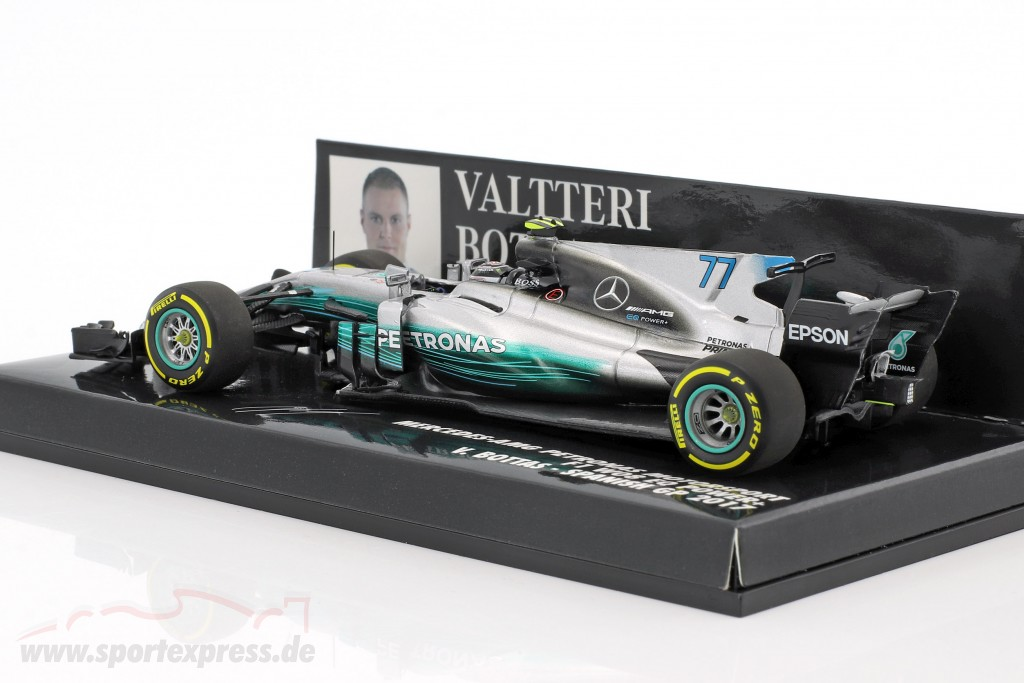 Valtteri Bottas Mercedes F1 W08 EQ Power  #77 Spanish GP Formel 1 2017