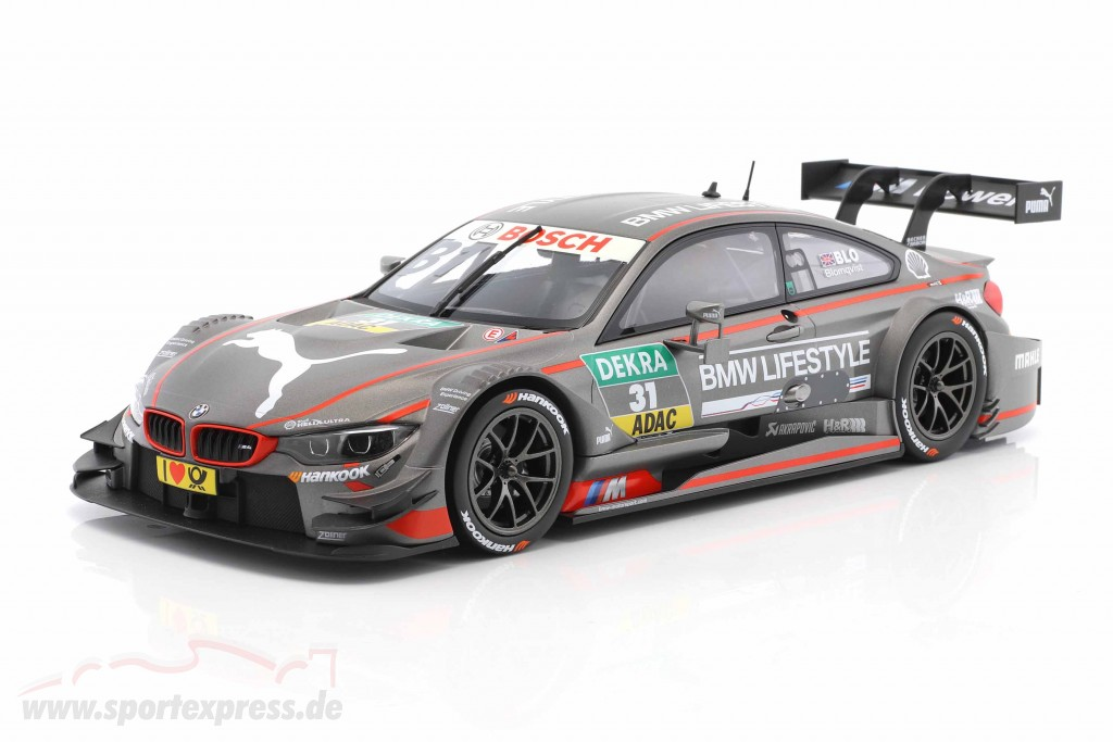 Tom Blomqvist BMW M4 DTM #31 DTM 2015 BMW Team RBM