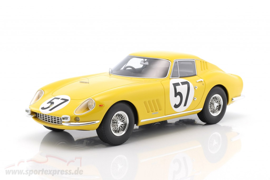 24h Le Mans Noblet//Dubois 1966 1:18 CMR Ferrari 275 GTB #57