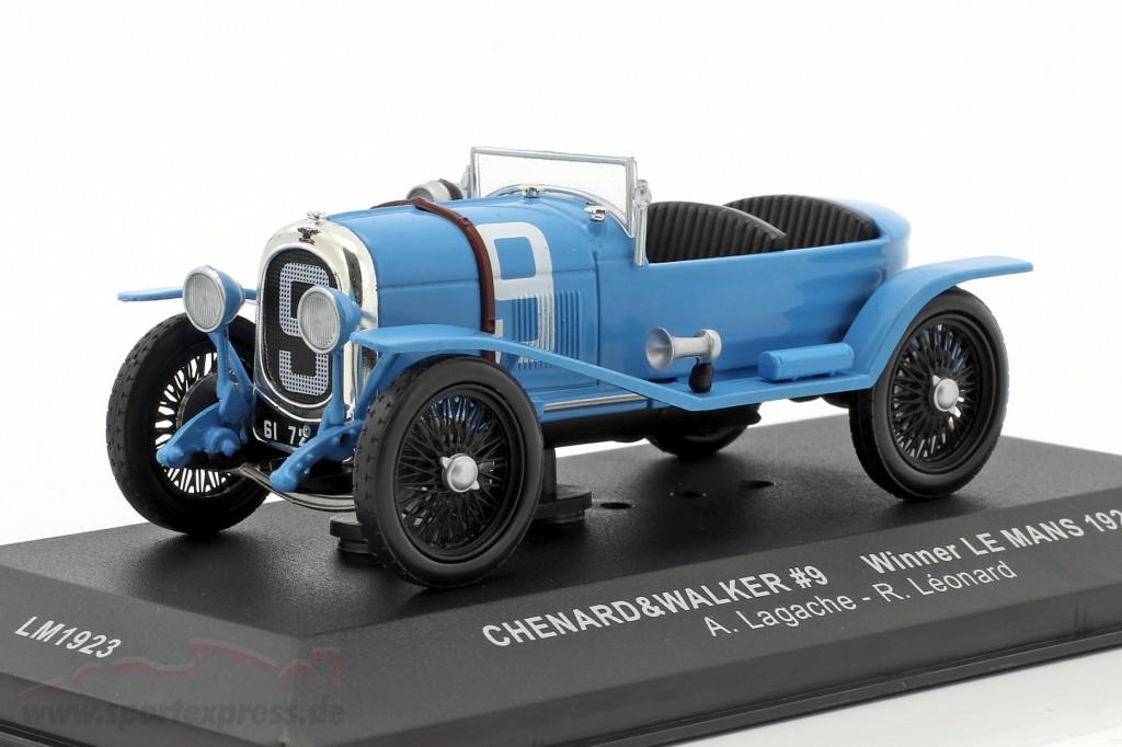 1:43 Ixo CHENARD /& WALKER WINNER 24 H le mans Lagache//Leonard 1923