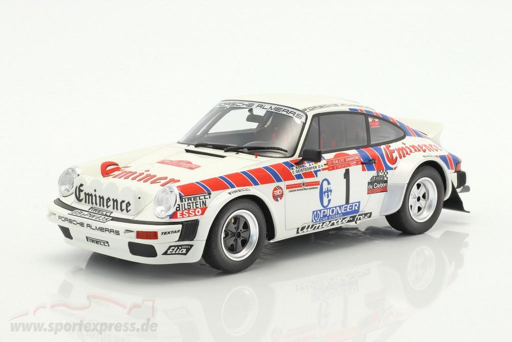 Porsche 911 SC Gr.4 #1 Rallye San Remo 1981 Röhrl, Geistdörfer  OttOmobile