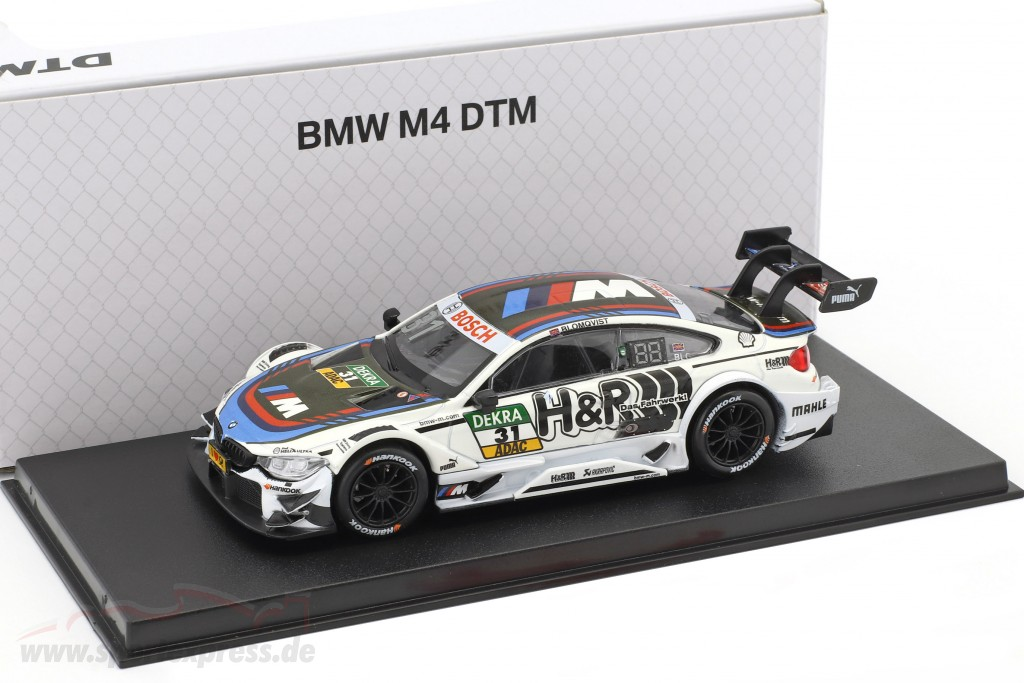BMW M4 DTM #31 DTM 2017 Tom Blomqvist BMW Team RBM