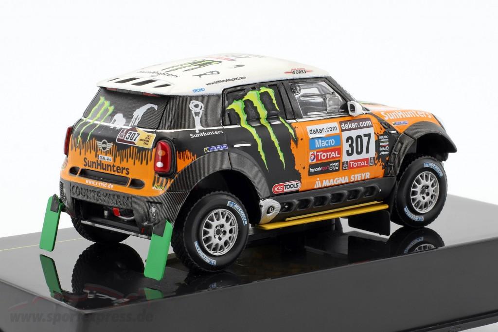 Mini All4 Racing #307 3rd Rallye Dakar 2013 Novitsky, Zhiltsov